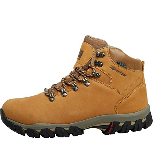 Mens Karrimor Mens Mendip Nubuck 2 Weathertite Trekking Stivali Marrone – 7 UK 7 Euro 41