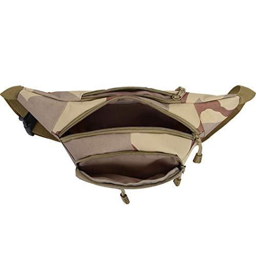 AWJ03 Sac de Taille Chaude pour Femme Ceinture étanche Poitrine Sac à Main Unisexe Fanny Pack pour Femme Sac à Main - Style 1
