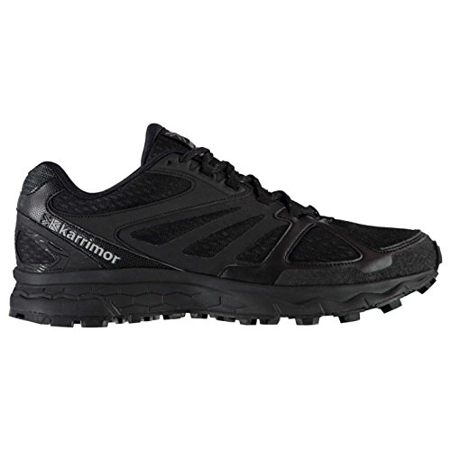 Karrimor Mens Tempo 5 Trail Running Shoes Lace Up Lightweight Mesh Upper Black UK 9 (43)