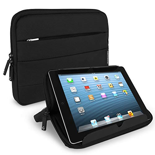 CELLONIC Funda para Tablets de 10.1 Pulgadas Nylon Negro Universal - Funda Protectora para Tablets con Burbujas antigolpes, Resistente al Agua | Bolsa