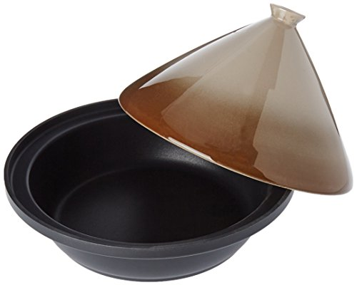 Cook Concept KC2404 Induktion Tajine, Rostfreies Metall, Taupe, One Size