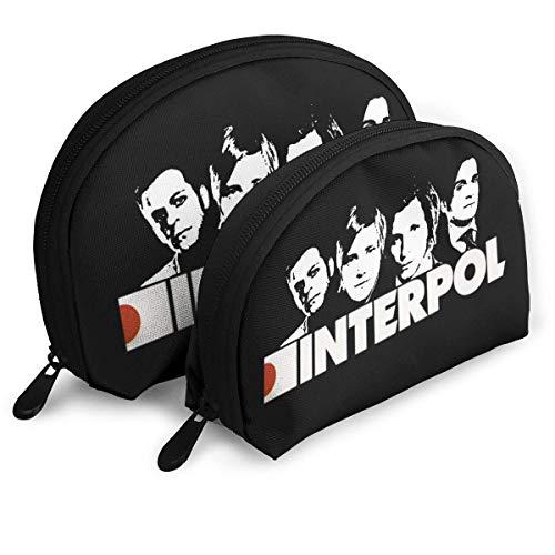 Interpol Band Travel Cosmetic Pouch Koppeling Draagbare Tassen Handtas Organizer met Rits
