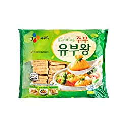 CJ Fried Tofu Puff 300G 50PCS, 300 g - Frozen