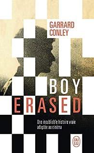 Boy Erased par Garrard Conley
