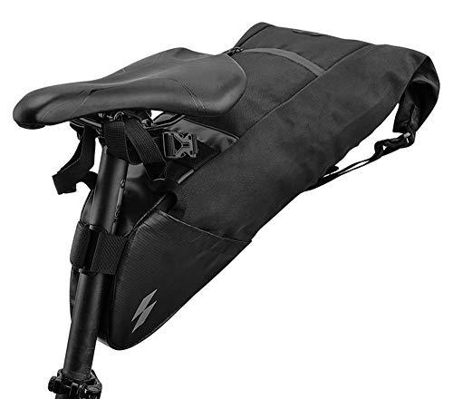 PYROJEWEL Bicicleta Bolsa de Cola Resistente al Agua de Gran Capacidad de la Bolsa de sillín de Bicicleta Resistente al Desgaste Accesorios