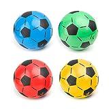 SHESSTILL Balón de fútbol para niños Regalo para niños Entrenamiento de fútbol Inflable Bolas elásticas de 20 cm