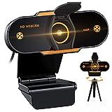 (2021 Nuevo modelo) Cheelom Video Cámara Web1080P Trípode Full HD USB,Webcam de...