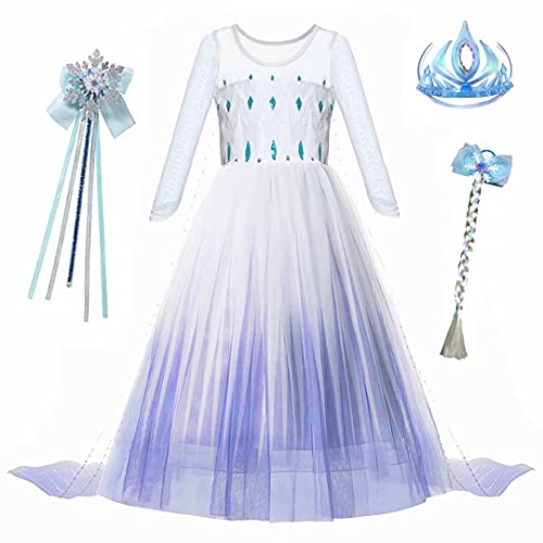 S1 Princess Dress up Costume – Girls Ice 2 Party Cosplay Outfit