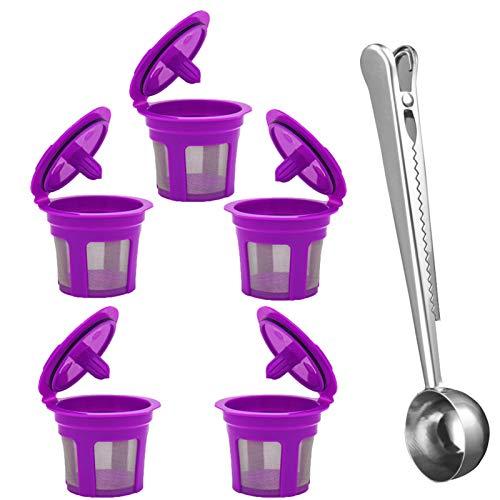 MOVKZACV - Tazas de café reutilizables reutilizables de aju