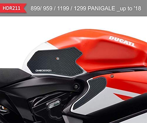 Vulturbike Seitenschutz Schwarz für Tank und Verkleidung Ducati Panigale V2