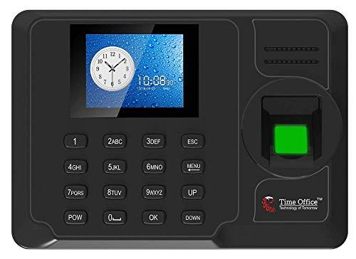 Time Office Fingerprint Based Attendance Machine with Cloud Attendance Software(Black) (Fingerprint, Battery)