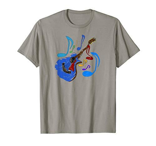 Gitarre Gitarrist Musiker Geschenk Damen Herren