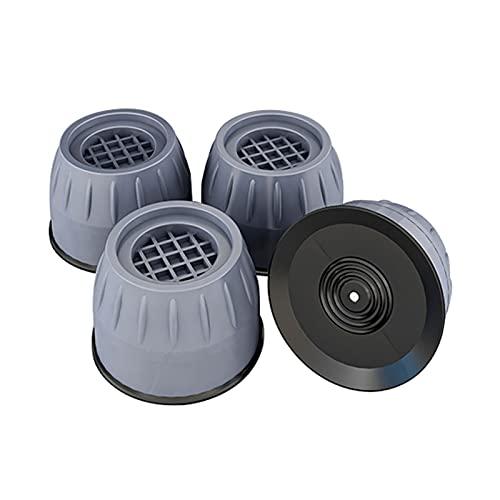 4 Pièces Tapis anti vibration machine a laver, Kit de superposition universel, Tampons Pieds en Caoutchouc Anti-Vibrations, pour Machine à Laver, Réfrigérateur(Color:B)