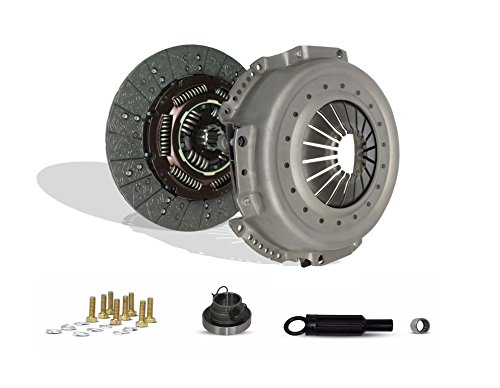 Clutch Kit Compatible With Ram 2500 3500 Laramie St Base Extended Standard Cab 1998-2003 5.9L L6 Diesel Ohv Turbo 8.0L V10 Gas Ohv Naturally Aspirated (5 Speed; Pressure Plate Bolts Included; 05-092)