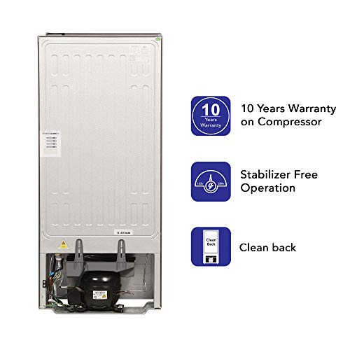 Haier 195 L 4 Star Direct-Cool Single-Door Refrigerator (HED- 20CFDS, Dazzle Steel) 6