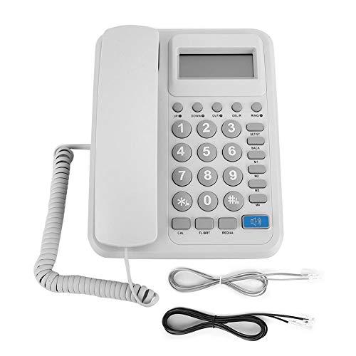 Teléfono con Cable, KX-T2023 Teléfono Fijo con Cable Teléfono de Oficina en...