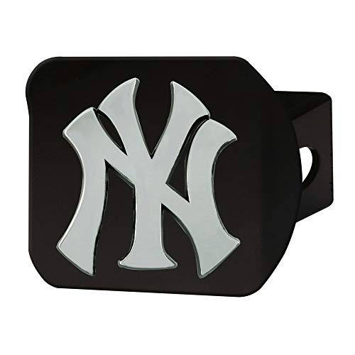 FANMATS 26655 MLB - New York Yankees Hitch Cover - Black