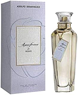 Adolfo Dominguez Agua Fresca de Rosas - 120 ml