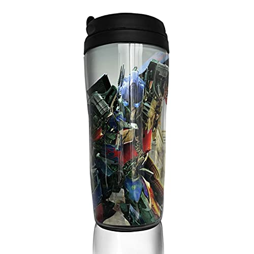 Transformers Optimus Prime Bumblebee Movies Coffee Cup Reusable Insulated Travel Mug for Hot Cold hot Drinks Tea and Beer