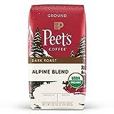 Peet's Coffee Organic Alpine Blend, Dark Roast Ground Coffee, 32 Oz, Alpine Blend, 32 Oz