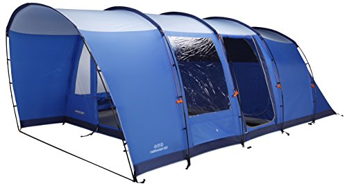 Vango 6 Person Tunnel Farnham 600 Tent for a cool environment.