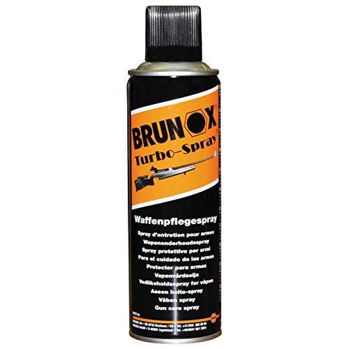 Brunox Turbo Spray Waffenpflege Schmieröl Universalreiniger Waffenreiniger (300ml Spray)