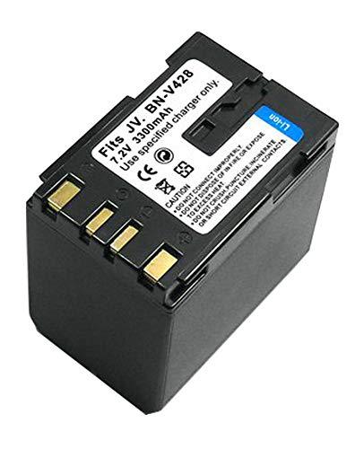 Amsahr Digital Replacement Camera and Camcorder Battery for JVC BN: V428, V428U,V408-H