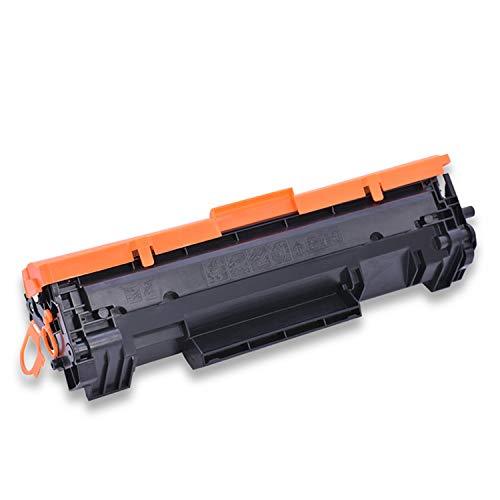 Compatible con Cartuchos de tóner HP Cf247a Cartuchos de tóner M31w Cartuchos de tóner para Impresora láser HP M30a 30W Cartuchos de tóner M17a 17W, Negro,47awithoutchip