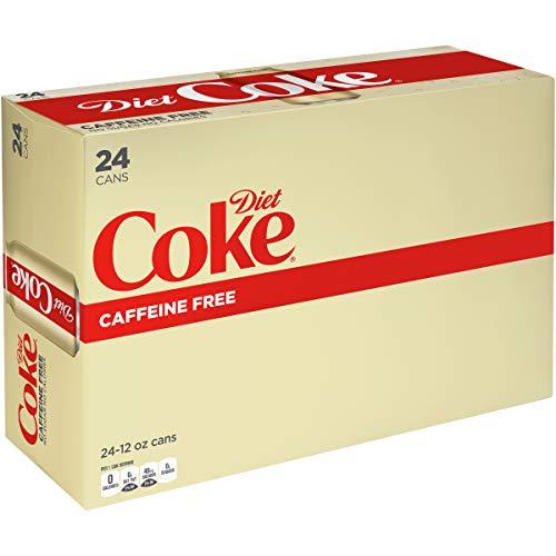 Caffeine Free Diet Coke, 12 fl oz, 24 Pack