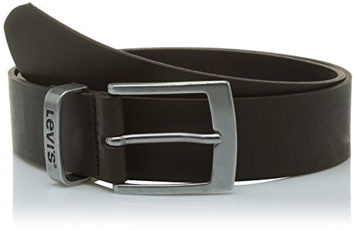 Levi's Hebron Cintura, Marrone (Dark Brown), 100 cm (Taglia Produttore: 100) Unisex-Adulto