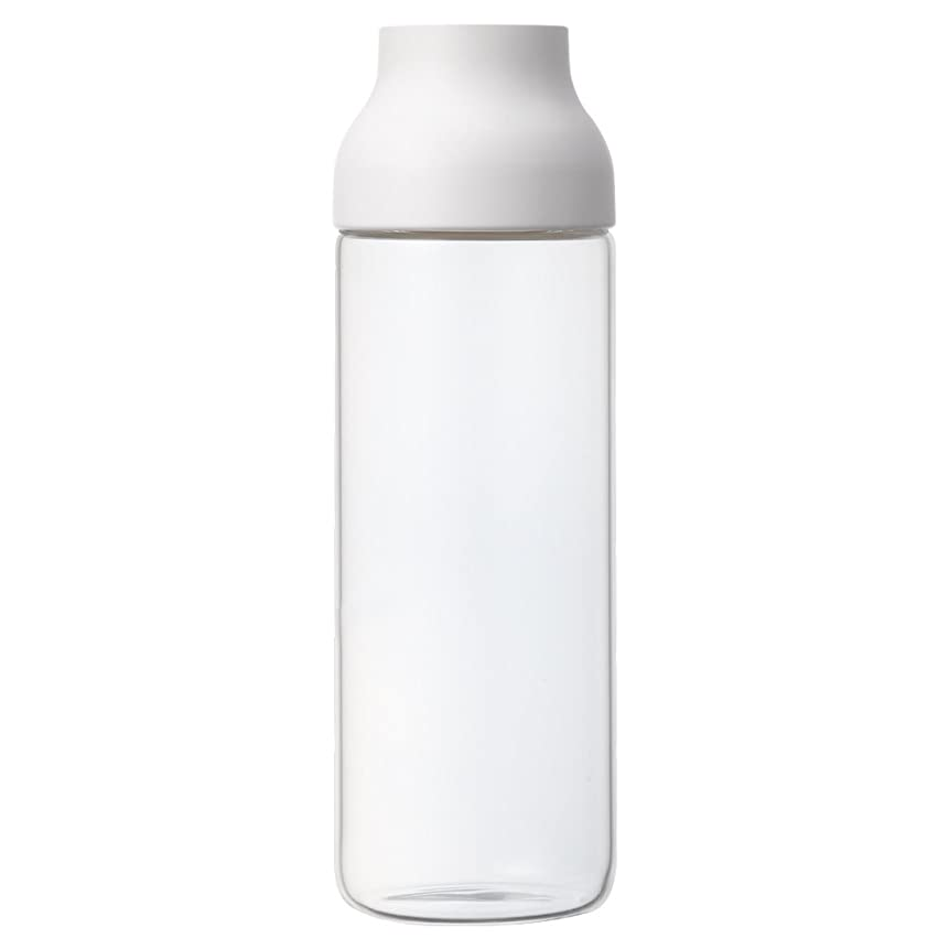 味わうシビックゴミKINTO (キントー) カプセル ウォーターカラフェ CAPSULE 1.0L ホワイト 22971
