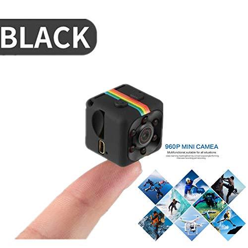 NWHEBET Mini Cámara Oculta Videocámara,Cámara De Deporte o Webcam 1080P HD Cámara Vigilancia Portátil Secreta Compacta con Detector de Movimiento IR Visión Nocturna, Camaras de Seguridad Pequeña