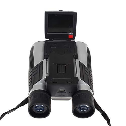 Binoculars GZXCPC Enregistreur vidéo à mémoire numérique 12MP HD 1080P Jumelles Enregistreur vidéo 96 m / 1000 m Affichage à Distance pour Regarder, chasser et espionner