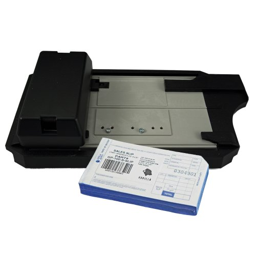 Addressograph Bartizan 4850 Credit Card Imprinter (with 100 Short Sales Slips)