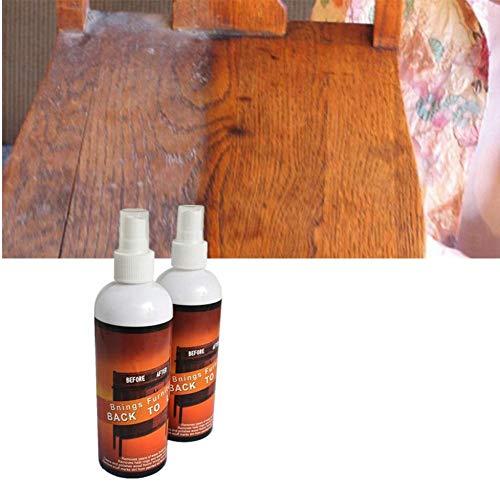 Liquido Riparatore Antigraffio Spray riparatore - per graffi su legno, Cera per riparazione pavimenti e mobili Fissaggio per rimozione segni di superfici Restauratore per ritocchi Lucidatura tavoli