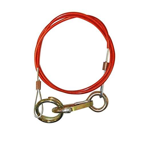 Abreißseil, Bremskabel, für Wohnwagen/Anhänger/Pferdeanhänger, hochbelastbar, schnell abzunehmen