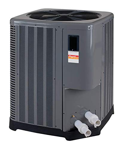 Raypak 016033 140k BTU Digital Heat Pump - Titanium