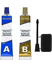 Metal Repair Paste Set AB Adhesive Gel Industrial Heat Resistance Cold Weld Wall Repairing Leakage Glue (100g)