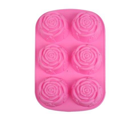 SmartProtectors! Cup Cake Moule au design Roses/Cup Cakes en forme de roses – 6