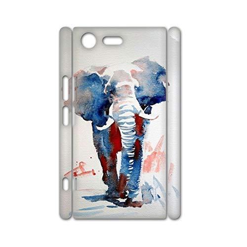 Gogh Yeah Embellecer con Watercolor 1 Teléfono Carcasa De Plástico Duro para Niños Usar como Xperia Xz Premium
