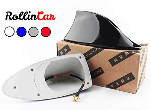 ROLLIN Antena Coche Universal Aleta Tiburon Techo