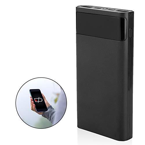 Oumij DIY powerbank box - 20000 mAh - met LCD-display - 6 delen 18650 batterij - met LED-zaklamp - powerbank nestkast - type-C twee-weg snelladen tot 95% efficiëntie
