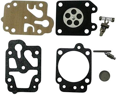 Carkio Vergaser-Reparatursatz, Ersatz für Honda GX31/GX22 Stihl MS260 Talon Ryobi Kettensäge