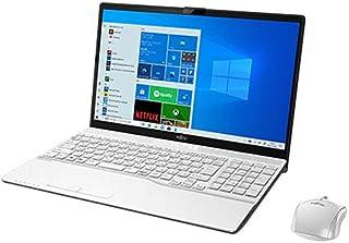 富士通 ノートパソコン FMV LIFEBOOK AH53/E3 15.6インチ Core i7 SSD 512GB 8GBメモリ Microsoft Office 2019 Home & Business搭載 FMVA53E3W-K2547D...