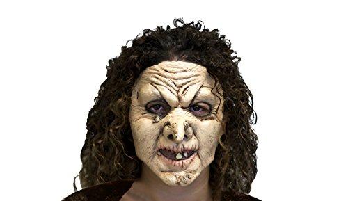 My Other Me Viving Costumes MOM00347 Masque de sorcière pour Adulte, Taille Unique Vert
