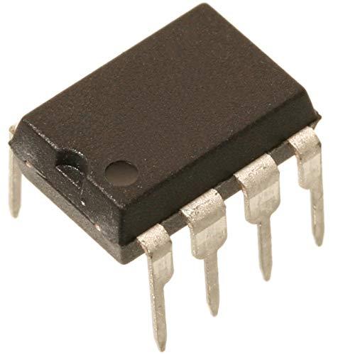 UA741CP-Operationsverstärker, einfach, 1 Verstärker, 1 MHz, 0.5 V/µs, ± 9V bis ± 15V, DIP, 8 Pin(s) (1 piece)