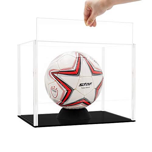 Tingacraft Acryl Vitrine 345 x 245 x 260 mm für Fußball, Selbstmontage