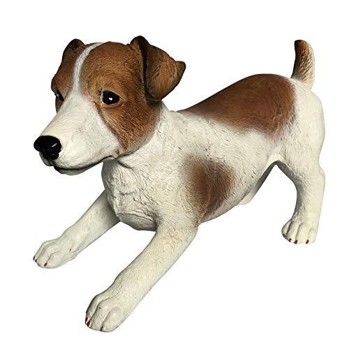 Jack Russel Deko Figur - Hunde Gartenfiguren für außen geeignet