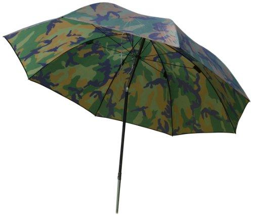 Zebco Erwachsene Schirme Angelschirm 2.20m Camou, Mehrfarbig