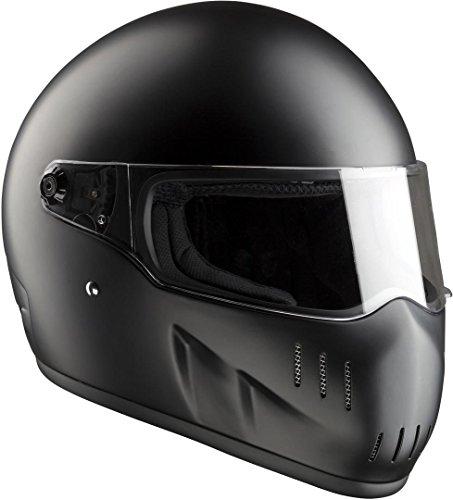 Bandit EXX II Motorradhelm Schwarz Matt L (59/60)